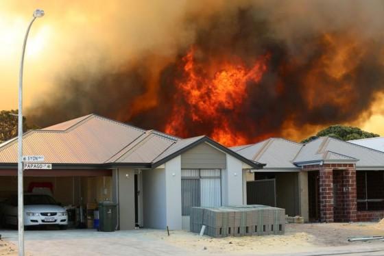 Bushfire and House Example (Western Australia)