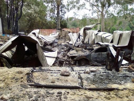 Bushfire shed