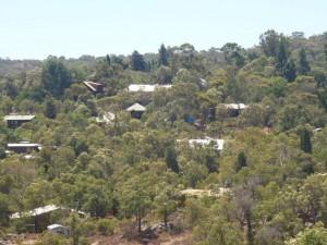 Bushfire Perth Hills